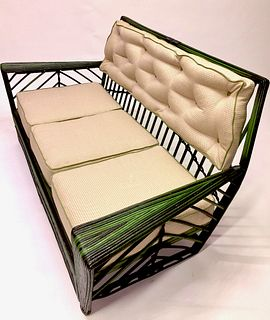 A Rare Art Deco Suite of Rattan Furniture