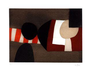 Afro (Basaldella, Udine  1912-Zurigo 1976)  - Invitation au voyage B, 1975