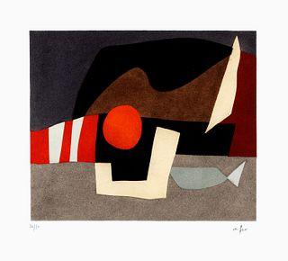 Afro (Basaldella, Udine  1912-Zurigo 1976)  - Invitation au voyage C, 1975