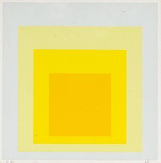 Josef Albers (Bottrop 1888-New Haven 1976)  - Orange, 1971
