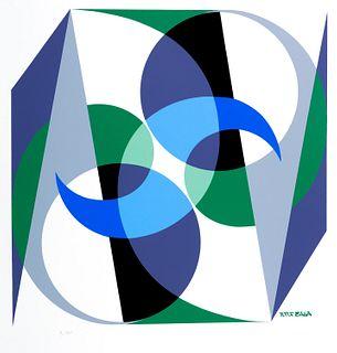 Giacomo Balla (Torino 1871-Roma 1958)  - Spatial balance