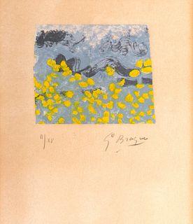 Georges Braque (Argenteuil 1882-Parigi 1963)  - Love letter, 1963