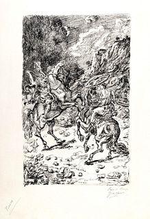 Giorgio de Chirico (Volos 1888-Roma 1978)  - I Nictomachi, 1948