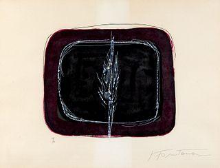 Lucio Fontana (Rosario 1899-Varese 1968)  - Concetto Spaziale, 1968
