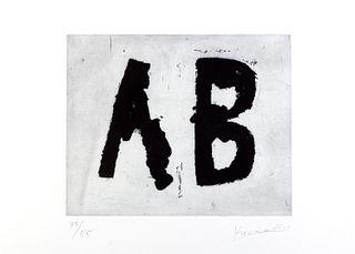 Jannis Kounellis (Pireo 1936-Roma 2017)  - AB