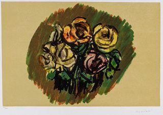 Ennio Morlotti (Lecco 1910-Milano 1992)  - Flowers