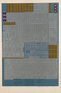 Eduardo Paolozzi (Leith 1924-Londra 2005)  - Untitled, 1967