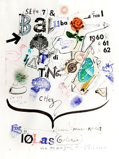 Jean Tinguely (Freiburg 1925-Berna 1991)  - Iolas Gallery