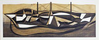 Barco-ballena de Gabriel Macotela