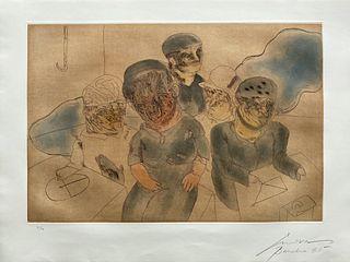 La familia del marino de José Luis Cuevas