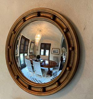 Vintage gilt wood convex mirror - Courtesy Lee's Antiques