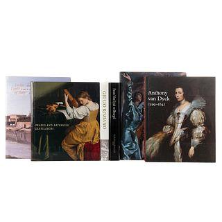 El Greco/ Anthony Van Dyck/ Giulio Romano/ From Van Eyck to Bruegel/ Orazio.../ In the Light of Italy. Pzas: 6.