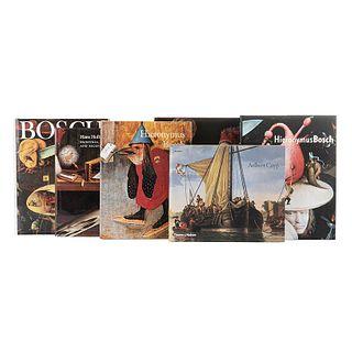 Hieronymus Bosch / Georges de La Tour / Aelbert Cuyp / Hans Holbein. Piezas: 6.