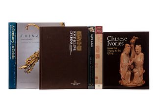 Libros de Arte Chino. Three Thousand Years if Chinese Painting / Ancient Sichuan / Chinese Ivories from the Shang to the Qing... Pz:6