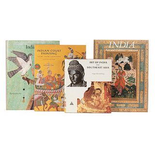 Libros sobre Arte en India.  India. Art and Culture 1300 - 1900 / Indian Painting / Indian Court Painting 16th - 19th Century... Pz: 4.