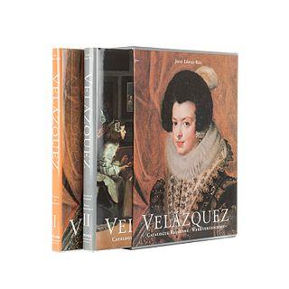 López-Rey, José. Velázquez. Painter of Painter / Catalogue Raisonné - Werkverzeichnis. Tomos I-II. En estuche. Piezas: 2.