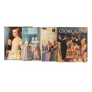 Pedrocco, Filippo / Spike, John T. / Roettgen, Steffi. Giorgione / Fra Angelico / Italian Frescoes / Italian. Piezas: 4.