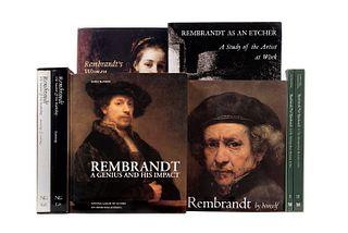 Libros sobre Rembrandt. Rembrandt: The Master & his Workshop / Rembrandt / Not Rembrandt in The Metropolitan Museum of Art...Pz: 8.