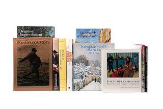 Libros sobre Impresionismo. World Impressionism: The International Movement, 1860 - 1920 / Beyond Impressionism... Pzs: 10.
