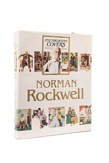 Finch, Christopher. Norman Rockwell. 332 Magazine Covers. New York, 1979. Primera edición.
