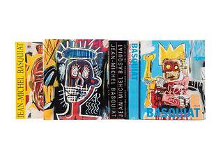 Libros sobre Jean - Michel Basquiat. Jean - Michel Basquiat. Une Rétrospective / Marshall, Richard. Jean - Michel Basquiat. Pz: 6.