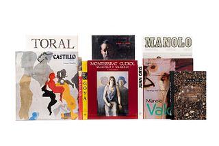 Guillaud, Jacqueline/Ratcliff, Carter/Castillo-Puche, J./Brown, Jonathan... Goya/Jorge Castillo/Cristóbal Toral/Manolo Valdés... Pzs:10