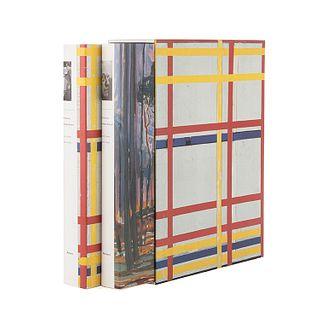 Joosten, Joop M. - Welsh, Robert P. Piet Mondrian: Catalogue Raisonné. New York: Harry N. Abrams, 1998. Tomos I - II. Piezas: 2.