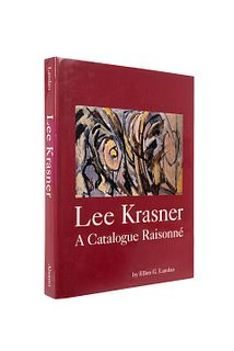 Landau, Ellen G. Lee Krasner. A Catalogue Raisonné. New York: Harry N. Abrams, 1995. Ilustrado.