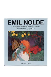 Urban, Martin. Emil Nolde. Catalogue Raisonné of the Oil - Paintings. Volume Two 1915 - 1951. London, 1987. Ilustrado.