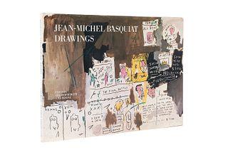 Jean - Michel Basquiat. Drawings. Zurich - New York, 1985. Edición de 1,000 ejemplares numerados, ejemplar 318. Firmado por el artista.
