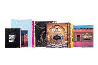 Ayala Alonso, Enrique/ Yampolski, Mariana. La Casa de la Ciudad de México/ The Traditional Architecture of Mexico... Piezas: 10.