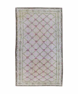A Large Contemporary Carpet Approximately 28 feet x 15 feet 3 1/2 inches.