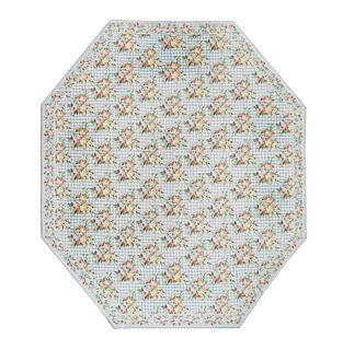 A Stark Hexagonal Carpet 19 feet 7 inches x 17 feet.