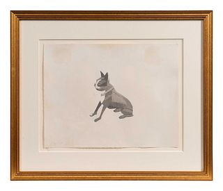 Alex Katz (American, b. 1927) The Dog, 1978