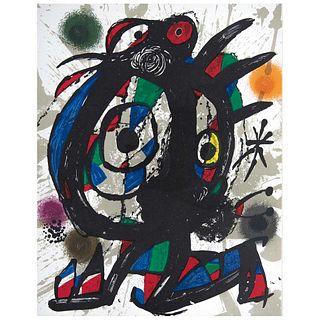 """JOAN MIRÓ, Litografía original I, from the suite 12 Litografías originales, 1972, Unsigned, Lithography without print number, 12.2 x 9.8"""" (31 x 25 cm)"""
