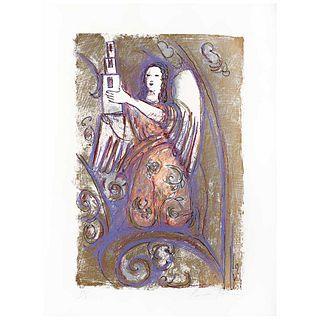 """CARMEN PARRA, Untitled, Signed, Serigraphy PT / I, 24 x 16.1"""" (61 x 41 cm)"""