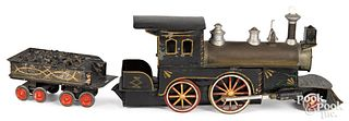 Scarce Jehu Garlick live steam train locomotive