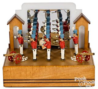 Baranger Studios animated wooden soldier display