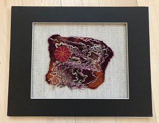 Judy Levine Ott, Woven, Embroidered, Beaded, and Felted