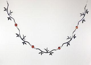 Ellen Vontillius, Maple Leaf Necklace