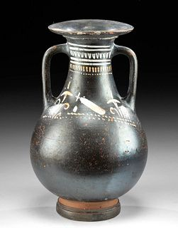 Greek Gnathian Pottery Pelike / Wine Vessel