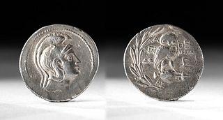 Greek Attica Silver Tetradrachm - Athena