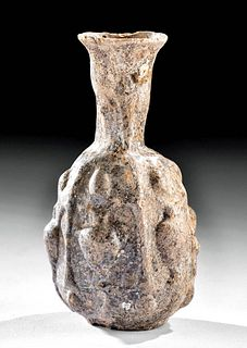 Roman Glass Bottle - Holy Land, Molded Form