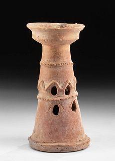 Ancient Holy Land Terracotta Incense Burner