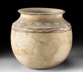 Anasazi Bi-chrome Pottery Jar