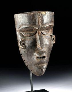 20th C. African Bassa Wooden Gela Mask