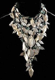 1980s Arthur Koby Costume Jewelry Necklace