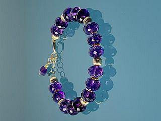 Bill Lehnert Designs, Amethyst bracelet