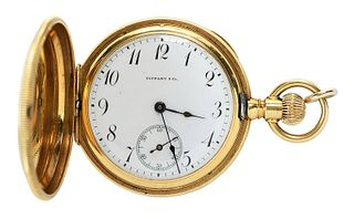 Tiffany & Co. 18kt. Pocket Watch