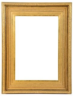 Fine American 19th century Gilt Wood Frame